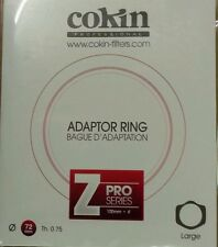 Cokin Z Series Adaptor Ring In 72mm 72 mm  Z472 Genuine Cokin UK stock