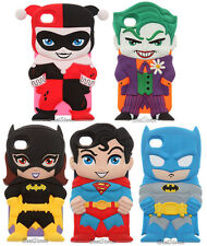 NEW DC COMICS Chara-Covers Series 1 Sculpted Cell Phone Case FITS iPhone 4/4S