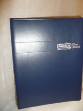 House Of Doolittle Class Record Book Blue Leatherette Cover Hod514 07 New