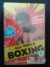 1991, AW Sports INC, ALL WORLD BOXING, 36 Pack, Wax Box!!!