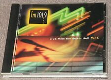 KSCA FM 101.9 Live From Music Hall Vol 1 1995 CD TORI AMOS LITTLE FEAT DADA COLE