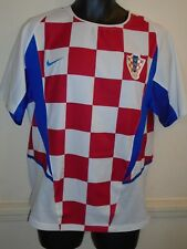 Croatia Home Shirt 2002-2004 small men's #1228