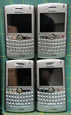 Lot (4) Verizon Blackberry 8830 World Edition Silver Smart Phones *Sold As Is*