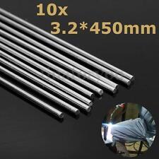 10pcs 450mm Aluminum Alloy Silver Welding Rods Tools For Cracks Polish & Paint