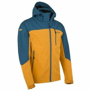 Men's Kilpi Elio Softshell Outdoor Jacket, Orange Size XL