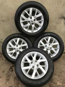 2013-2018 NISSAN NOTE 15 INCH COMPLETE ALLOY WHEEL SET 185 65 R15