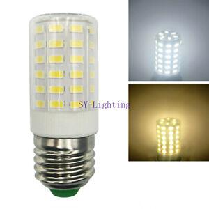 2pcs E27 E26 LED Bulb A15 lamp 66-5730 SMD Ceramic Corn Light Equivalent 100W
