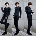 New Men's Skinny Fall Slim Fit Pencil Pants Jeans Denim Korean Stylish Trousers