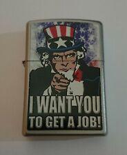Rare Uncle Sam Zippo Lighter circa 2012