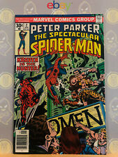 Spectacular Spider-Man #2 (9.2) NM- Kraven the Hunter 1977 Bronze Age Key Issue