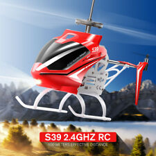SYMA S39 RC Helicopter 2.4G 3CH With Gyro Toy Metal Body Outdoor Play Red