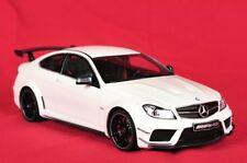Mercedes C63 AMG Coupe White Edition Limited Black Series 1:18 GT Spirit C204.