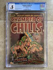Chamber of Chills #12 CGC 1952 Harvey Comics Pre-Code Horror! PCH
