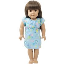 New ListingAmerican Girl Pleasant Hill Company Doll Brown Hair Bangs Blue Floral Dress