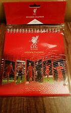 2018 FC LIVERPOOL DESK CALENDAR OFFICIAL MERCHANDISE BRAND NEW
