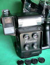 Polaroid mod. 403 MINI Portrait CAMERA FLASH pass fotocamera film TIMER ACCESSORI Y