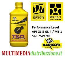 2 LITRI OLIO TRASMISSIONE E CAMBIO BARDAHL T&D SYNTHETIC 75W90 API GL-5 GL4