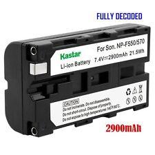 1x Kastar Battery for Sony NP-F570 HVR-Z7U HXR-NX5 HXR-NX5U NEX-FS100