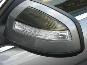 2008 2009 2010 Mercedes C300 C350 Smoked Mirror Light Overlay Tint Film Shades
