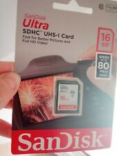 Scan Disc ULTRA SDHC UHS-I CARD 16GB