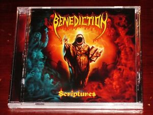 Benediction: Scriptures CD 2020 Nuclear Blast Records USA NB 5638-2 NEW