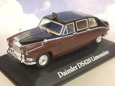 Atlas de Metal 1/43 H. M. Reina Madre Daimler Ds420 Limusina Negro/Burdeos 1970
