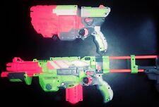Nerf Vortex Blaster Disc Gun Lot Of 2: Praxis & Vigilon