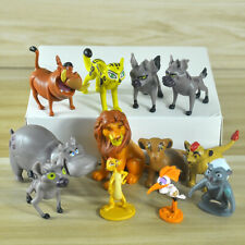 12 The Lion King Guard Action Figure Simba Mufasa Pumbaa Timon toy Cake Topper