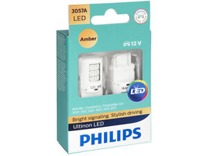 2x PHILIPS ULTINON 3057 AMBER 3057AULAX2 INTERIOR SIGNALING STOP TAIL BACKUP LED