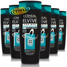 3x Loreal Elvive for Men Triple Resist 2 in 1 Shampoo & Conditioner 400ml