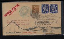 Belgium / US franking SS  American Traveler ship cover 1948      MS1104