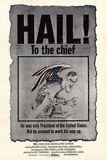 HAIL TO THE CHIEF Movie POSTER 27x40 Dan Resin Richard B. Shull Dick O'Neill
