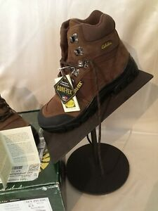 Mens cabelas boots gore tex trail lite hikers riding 8.5 NIB brown leather NEW