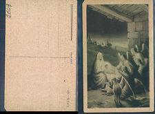NATALE - ANGELI IN ADORAZIONE DEL BAMBINELLO  -   (rif.fg. 1609)