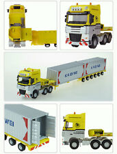 Kaidiwei alloy carrier model 1-50 with 2 trailer