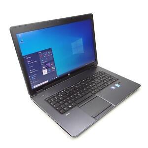 HP ZBook 17 G3 Intel Core i7 4700MQ 8GB RAM 512GB HDD Intel HD 4600 Nvidia K610M
