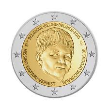 """Belgium 2 Euro commemorative coin 2016 """"Child Focus"""" UNC"""