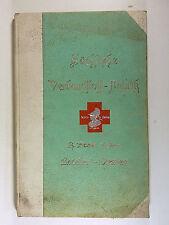 BUCH KATALOG SÄCHSISCHE VERBANDSTOFF FABRIK DRESDEN RADEBEUL PLOEHN VON 1902