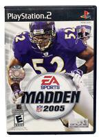 Madden NFL 2005 (Sony PlayStation 2 PS2, 2004)