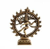Statua Di Shiva Nataraj Nataraja Natraj 0.500KG India IN Ottone 1073 X4