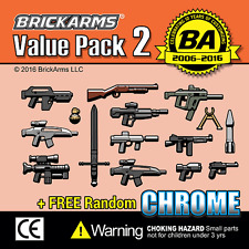 Brickarms Value Pack 2 - Fits Lego BNIP