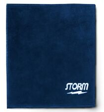 Storm Leather Shammy Pad Towel Removes Oil From Bowling Balls Blue