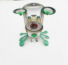 rare clock robot handmade metal recycled