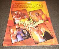 WWF/WWE SummerSlam 1990 Official Program / APRIL 27,1990 HOGAN /ULTIMATE WARRIOR