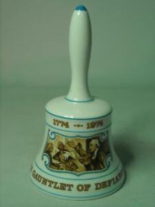 "Hammersley 1774-1974 GAUNTLET OF DEFIANCE Liberty Bell Nice ""Ringing"" Tone"