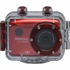 Vivitar HD Action Waterproof Camera / Camcorder - Red DVR786HD