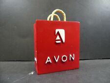 Avon Award 2006 Incentive Business Card Holder Red Bag Club