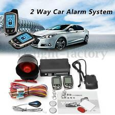 2 Way Universal Car Alarm Security System Sensor Keyless Entry Remote Control