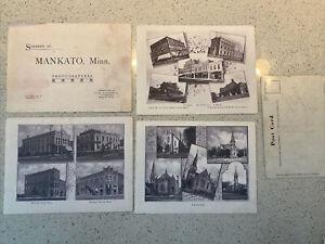 12 Mankato Minnesota C1904 Albertype Blissenbach Prints 5x7 Souvenirs Images