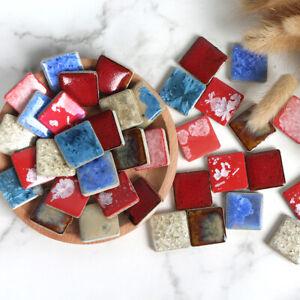 Square Ceramic Mosaic Tiles Wall Tiles Sheets Arts and Crafts Various Mixes